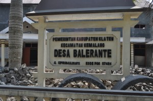 Lokasi Sarasehan Undang-undang Desa